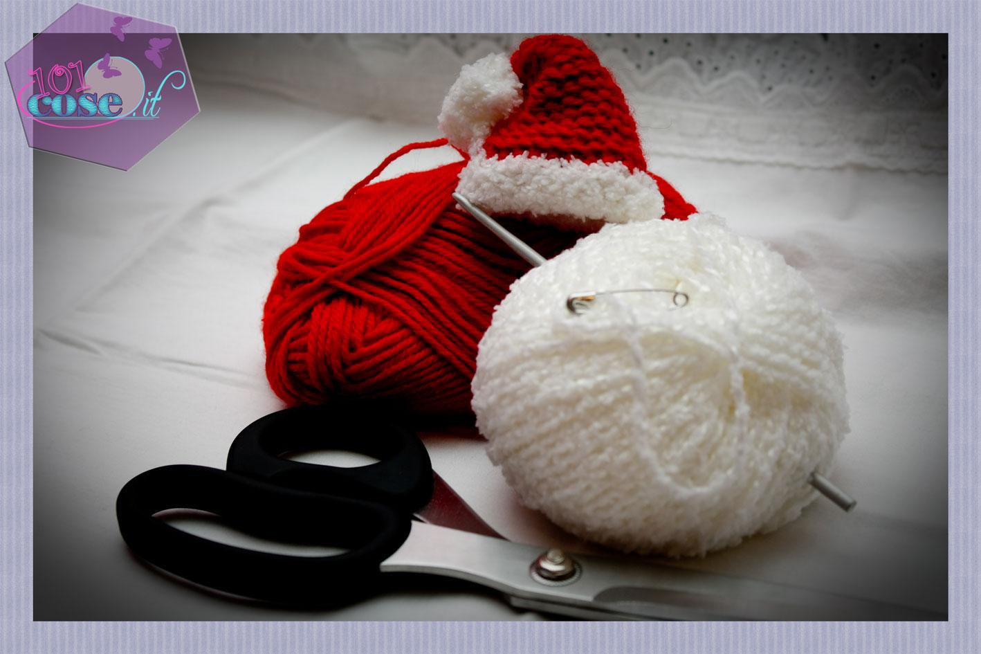 Cappello di Babbo Natale per Amigurumi | How to crochet a Santa ... | 945x1418