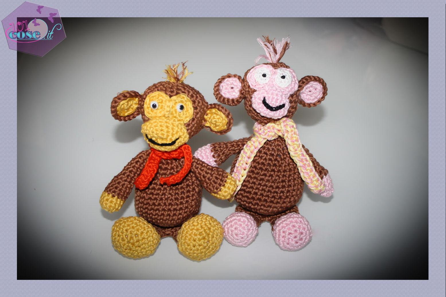 Monkey rock amigurumi pattern (3) - free cross stitch patterns ... | 1037x1555
